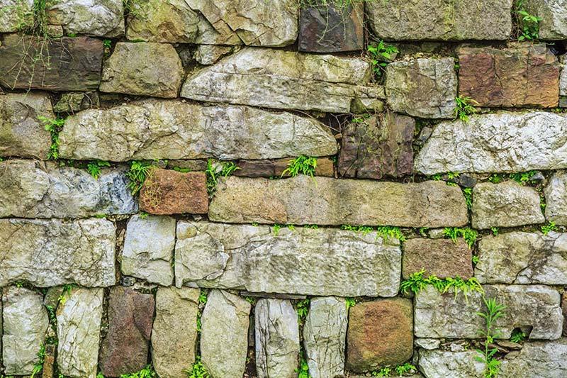 Desenli Taş Duvar Kağıdı Çeşitleri | Şekilsiz Taş Duvar Kağıtları | Duvar34.com