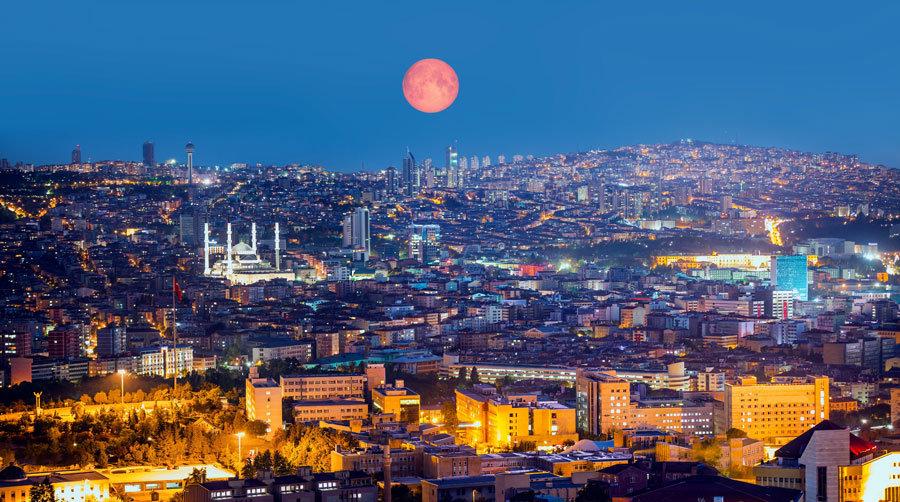 İstanbul Gün Batımı Manzara Duvar Kağıtları | 3D İzmir Poster Duvar Kağıdı