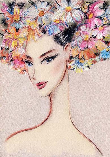 Estetik ve Güzellik Salonu Duvar Kağıtları | Vintage Sanat Duvar Kağıtları