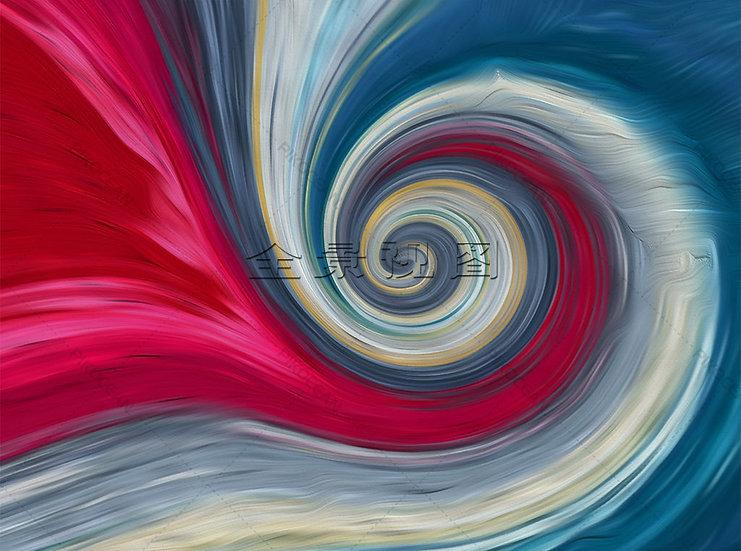 Soyut Renkler Duvar Kağıtları | 3D Amerikan Pastoral Renkler Duvar Kağıdı