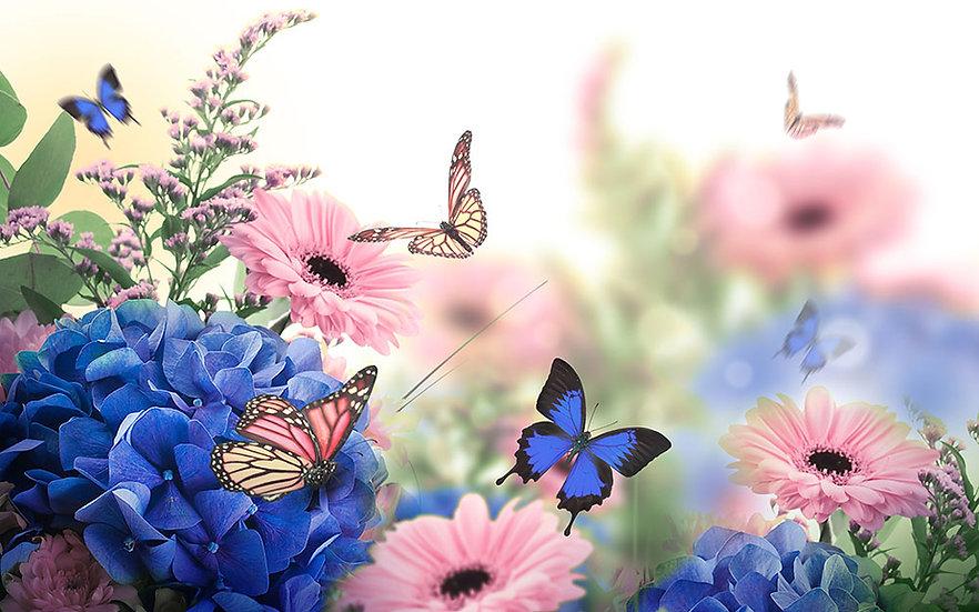 3 Boyutlu Kelebek Dekoru İçin Duvar Kağıtları   Sakarya Duvar Kağıdı Modelleri