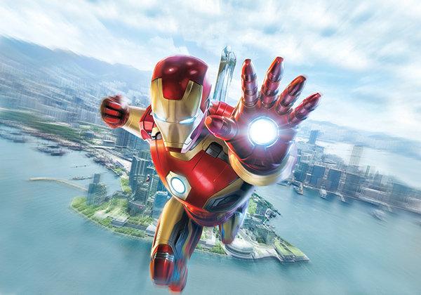 3 Boyutlu Iron Man Duvar Kağıtları | Genç Odası Duvar Kağıtları | İstanbul
