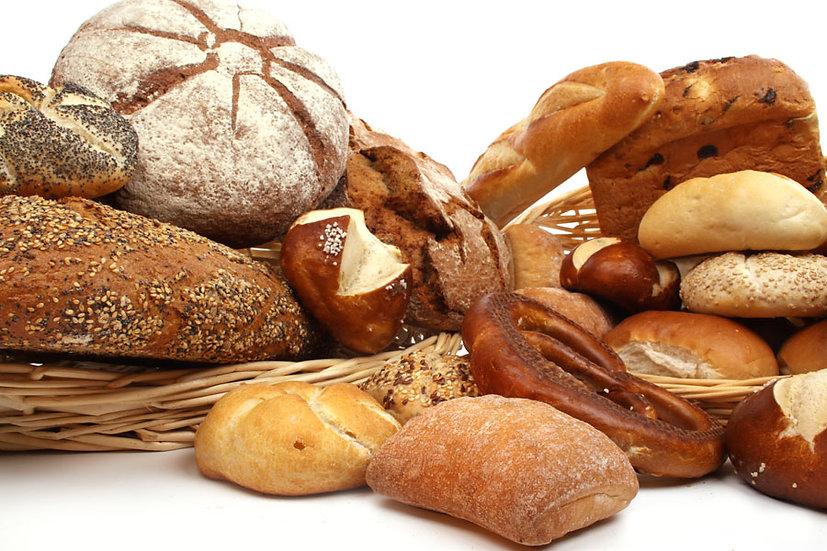 Ekmek Çeşitleri Duvar Kağıdı   Kabartmalı Pastalar Duvar Kağıdı   Duvar34.com