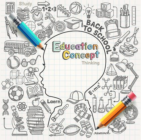 Eğitim Konsepti Duvar Kağıtları | Kokusuz ve Kaliteli Duvar Kağıtları