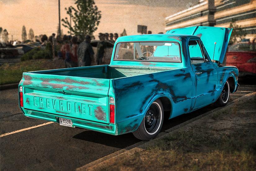 1958 Chevy Cameo Classic Duvar Kağıtları | 3 Boyutlu Chev Duvar Kağıtları