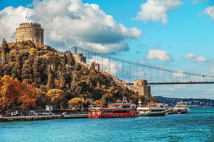 İstanbul Kalesi Duvar Kağıtları Hd | Boğaz Köprüsü Duvar Kağıtları | Adana