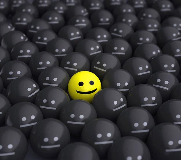 Siyah Emoji Arasında Sarı Emoji Duvar Kağıdı | Emoji Duvar Kağıdı | Adana