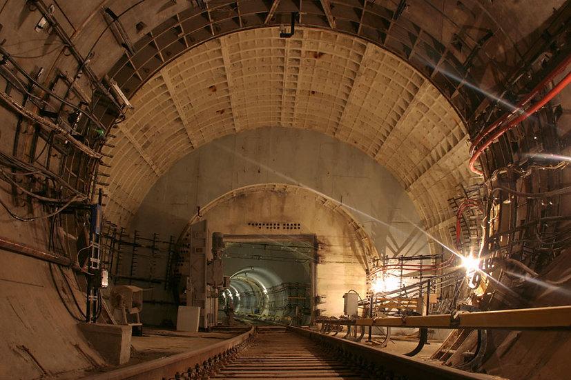 HD Tünel Altyapı Duvar Kağıtları | 3 Boyutlu Metro Tüneli Duvar Modelleri