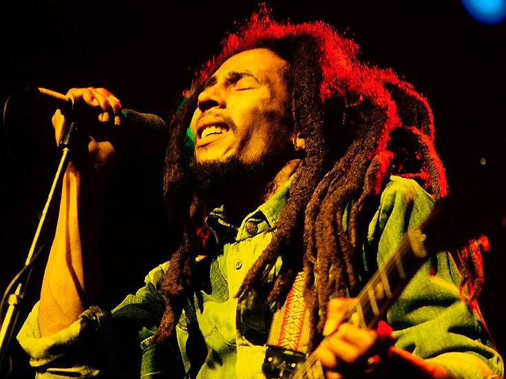 Bob Marley Duvar Kağıdı | 3 Boyutlu Graffiti Duvar Kağıtları