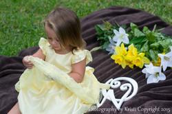 Yellow dress fun