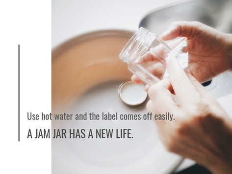 A Jam Jar Has A New Life