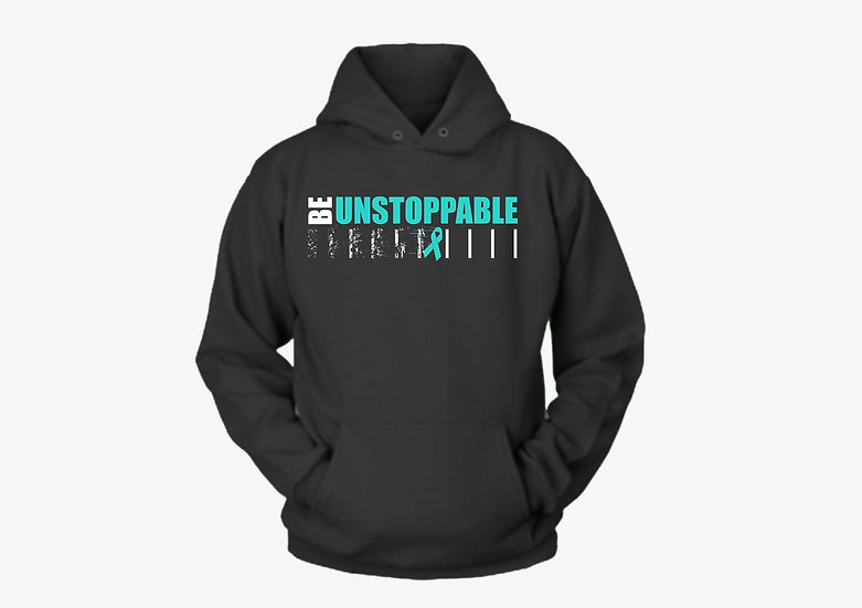 Be Unstoppable Ribbon Hoodie