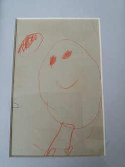 Mijn eerste 'kunstwerk'.