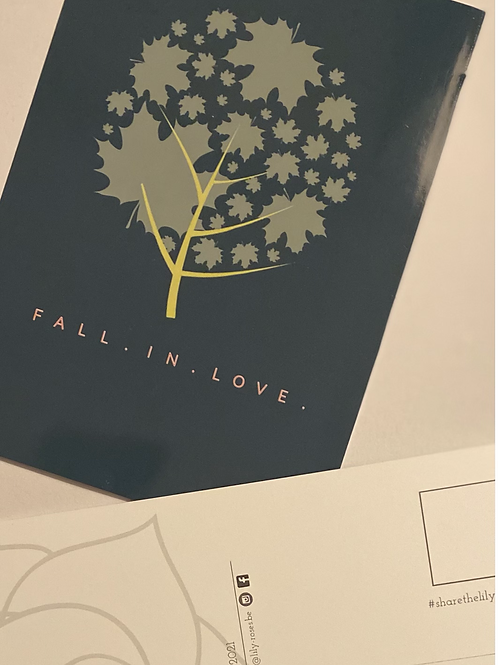 Fall in love (set van 4)