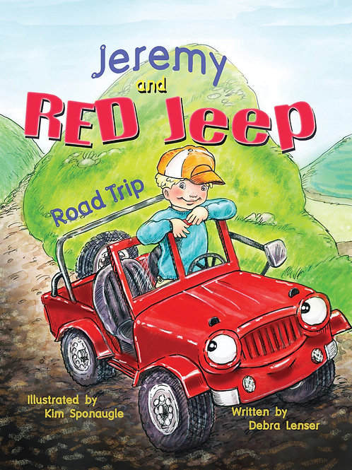 Jeremy and Red Jeep: Road Trip by Debra Lenser
