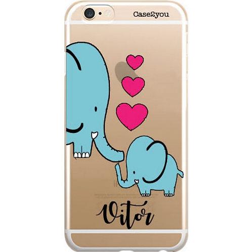 Capa Elefantes com Nome - CS1630