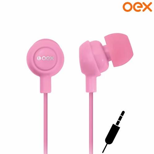 Fone de Ouvido P2 Intra Auricular OEX