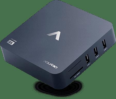 Smart TV Box Aquário 4K