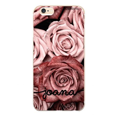 Capa Rosas com Nome - CS1420
