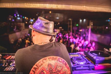 DJ's view Clash stage