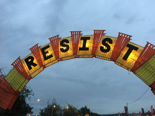 Resist @ Glastonbury 2017