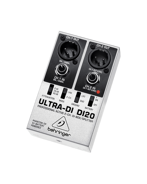 Double Ultra DI Behringer