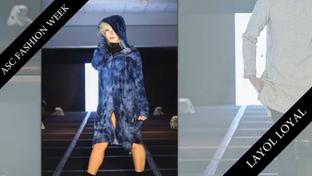 Allie walking in Layol Loyal at NY Fashion Week
