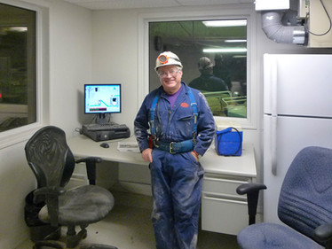 Allan, SK, Canada - Mine Office