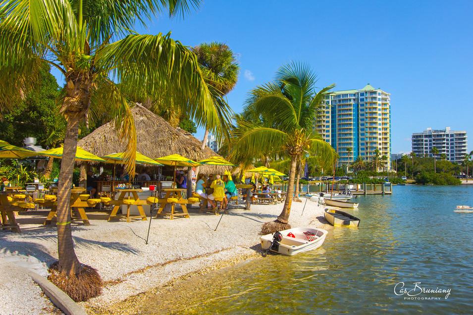 Tiki Bar in Bayfront Park