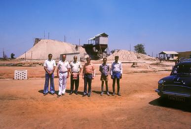 Dhanbad, India - visiting a coal mine