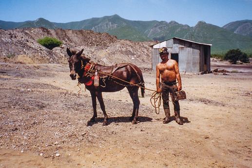 Sabinas, Mexico - coal miner