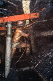 Sabinas, Mexico - Underground Coal Mine