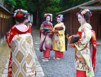 Kyoto, Japan - Geishas