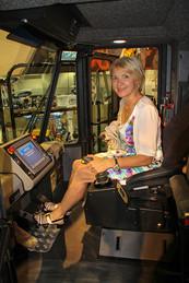 Las Vegas Mining Expo - Electric Shovel Simulator and a Beautiful Model