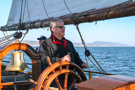California, USA - Sailing with Salt Institute crew