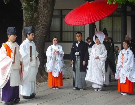 Kyoto, Japan - Traditional Wedding