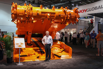 Las Vegas Mining Expo - Joy Continuous Miner