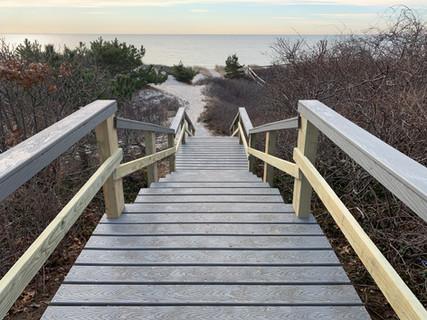 New Beach Stairs