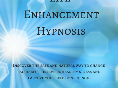 Life Enhancement Hypnosis Book Released!