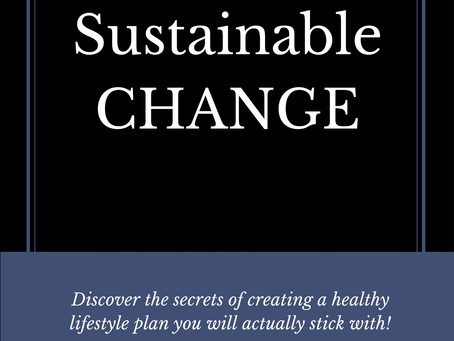 Attainable Sustainable CHANGE Book Release
