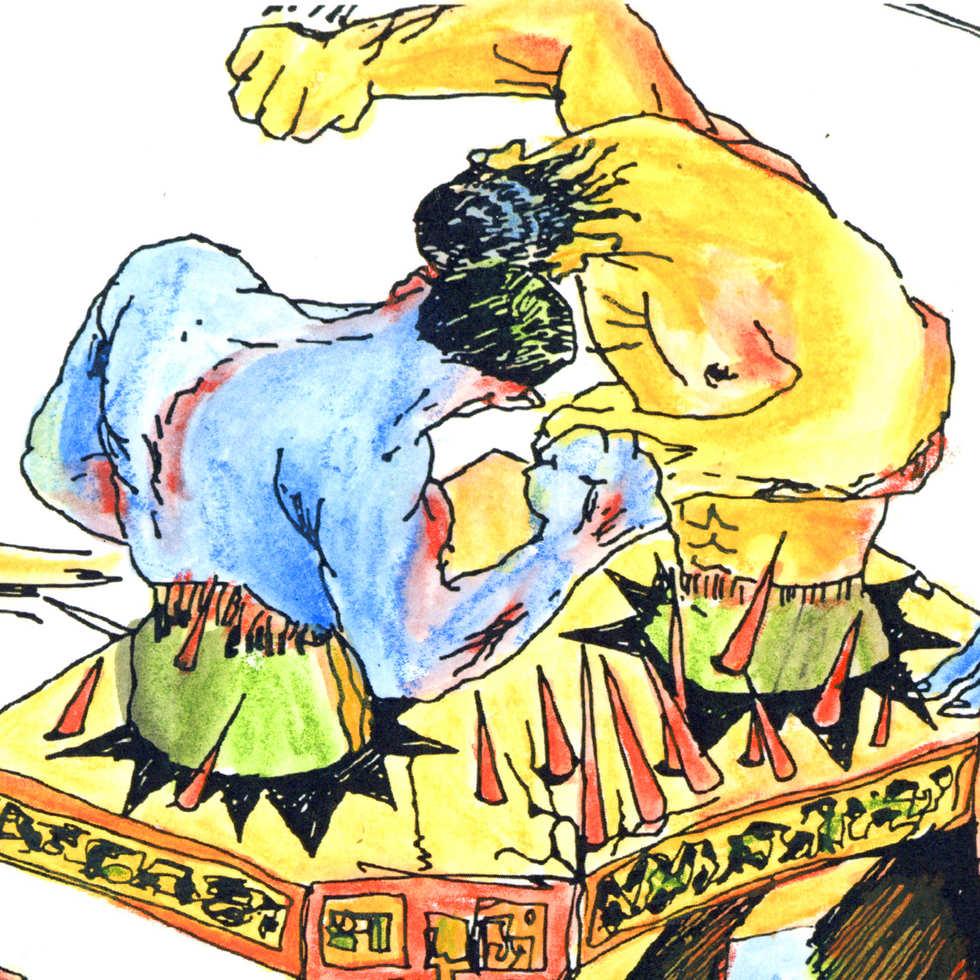 Mayan War Ft. Matt Byron