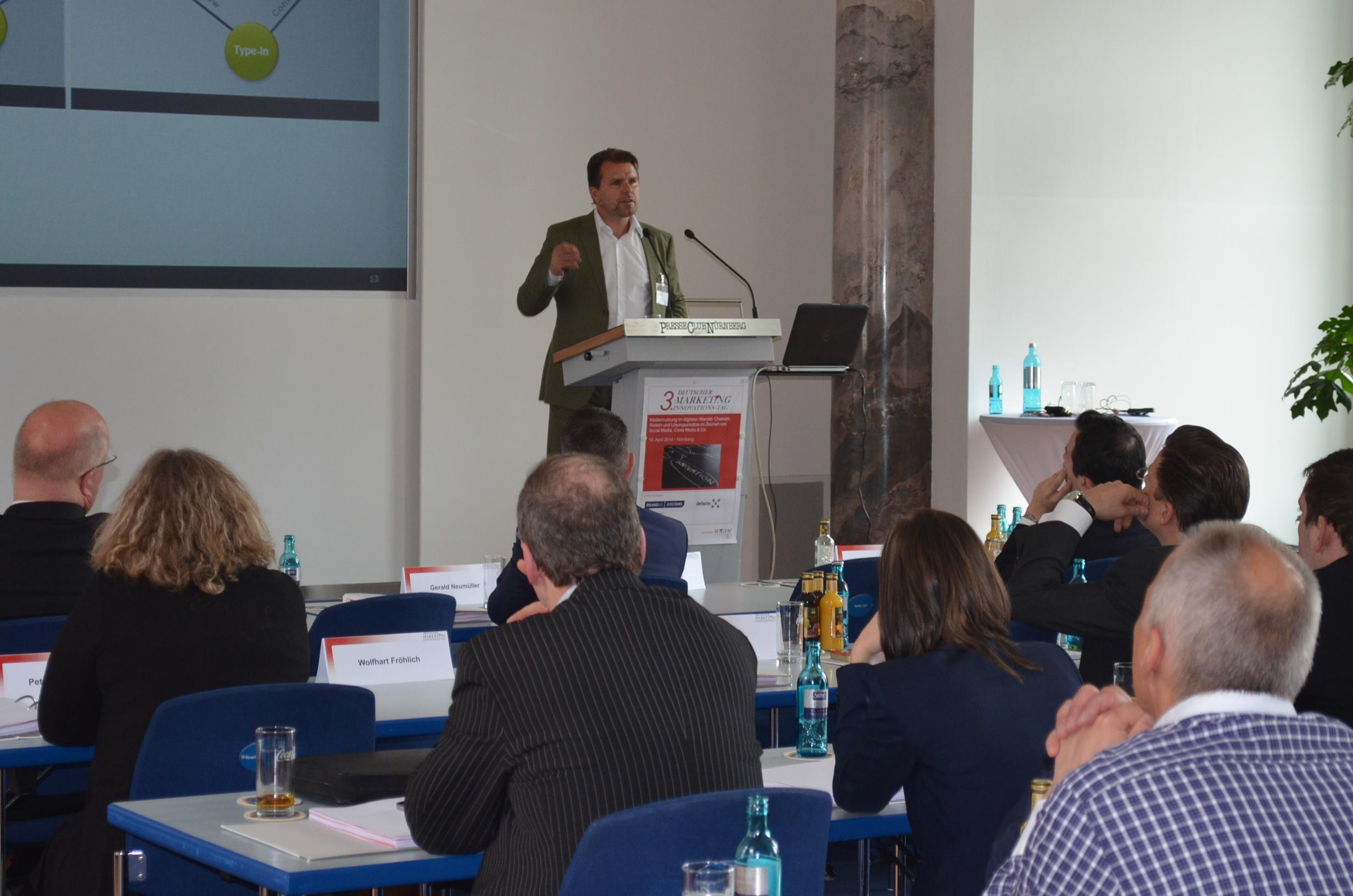 Vortrag von Wolfhart Fröhlich