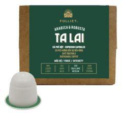 TALAI Direct Trade Arabica & Robusta 100 capsules/Box - Intensity: medium