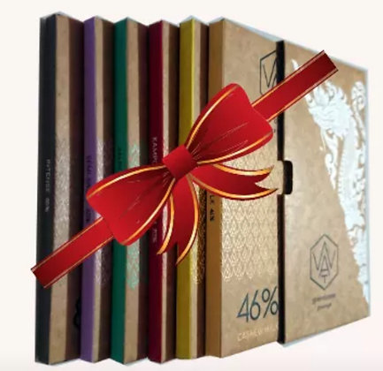 Gift Box with 6 bars of 70g 2nd Edition