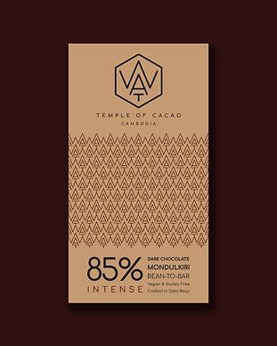 Cambodia chocolat brand Wat chocolate