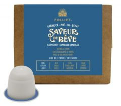 30%OFF - SAVEUR DE REVE Decafeinated - Arabica 100 compostable capsules/Box