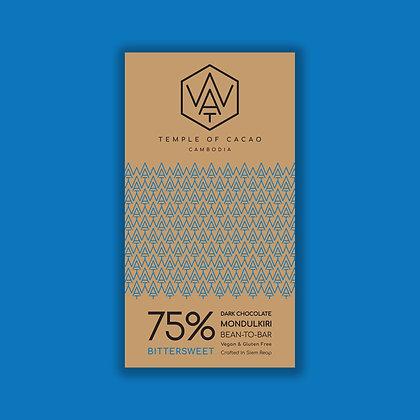 75% Dark Chocolate Bittersweet 70gr