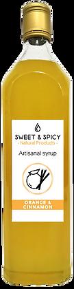 Orange and Cinnamon Syrup