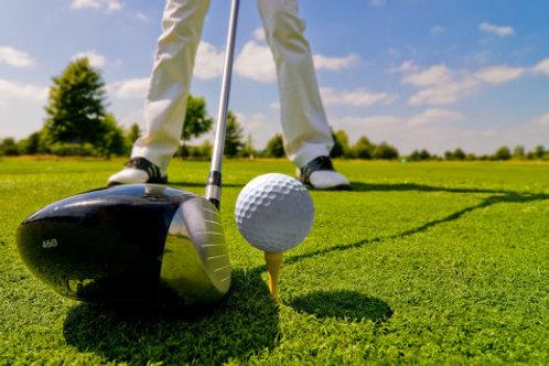 9 holes golf or footgolf - weekday