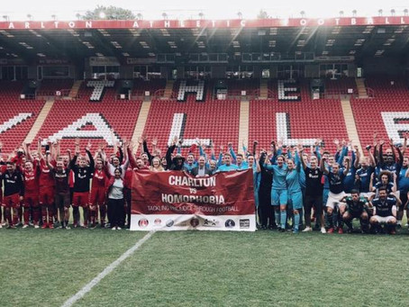 CHARLTON VS HOMOPHOBIA TOURNAMENT